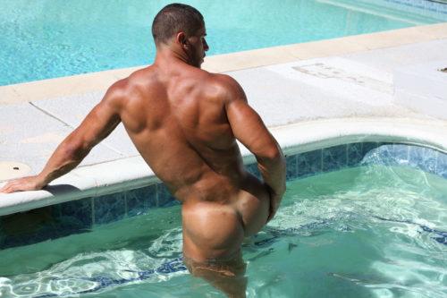 bodybuilder ass naked