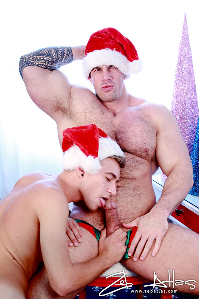 from Brecken santa claus gay man